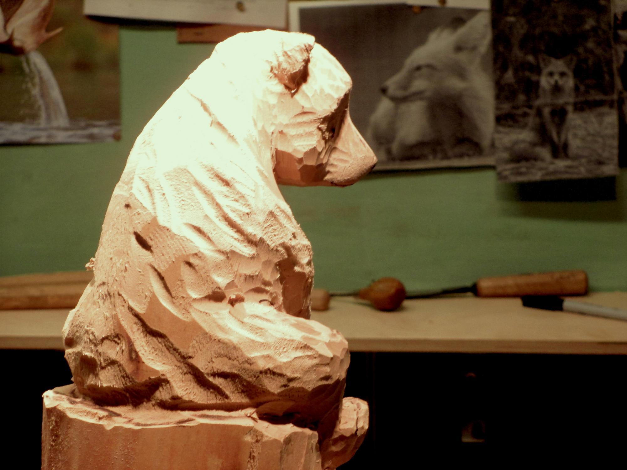 Claire-Alexie Turcot  - Atelier de sculpture-