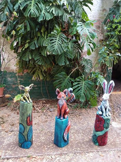Frêne, acrylique, 2019, Résidence artistique rancho Santa Maria, tepatitlan, Mexico-Claire-Alexie Turcot