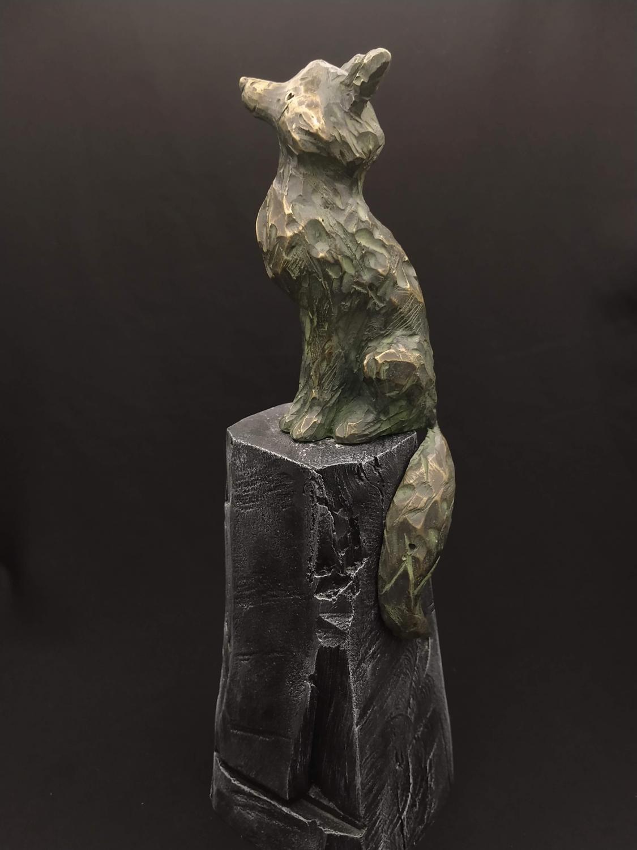 Bronze et hydrostone 2020 31 cm x 9 cm 8,5 cm)-