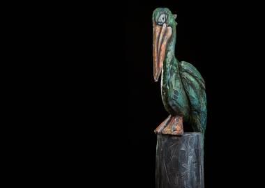Claire-Alexie Turcot Collection ''Les-Entailles'', Tilleul, acrylique,  2015-Photo: Benoît Lemay